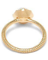 Larkspur & Hawk - Yellow Ballet Stone Bella Stacking Round Ring - Lyst