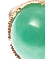 Irene Neuwirth | Green Chrysoprase Gold Ring | Lyst