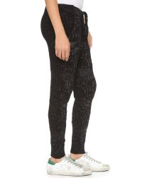 Free People - Road Trip Jogger Pants - Black Combo - Lyst