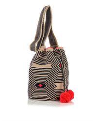 Sophie Anderson | Natural Lilla Woven-Cotton Shoulder Bag | Lyst
