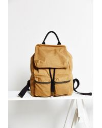 Urban Outfitters | Brown Uo Canvas Army Backpack | Lyst