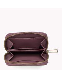 Tommy Hilfiger | Purple Nappa Leather Purse | Lyst