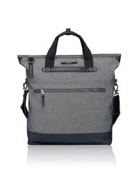 Tumi | Gray 'dalston - Perch' Backpack Tote for Men | Lyst