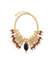 Ela Stone | Metallic Exclusive Michelle Necklace | Lyst
