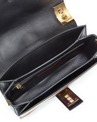 Valentino - Multicolor B-Rockstud Striped Leather Shoulder Bag - Lyst