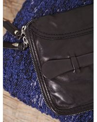 Free People - Black Patched Travel Wallet - Lyst