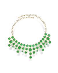 Monica Vinader - Metallic Siren Bib Necklace - Lyst