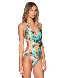 Luli Fama - Multicolor Miami Nice Swimsuit - Lyst