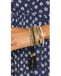 Samantha Wills - Metallic Midnight Rendezvous Bracelet Set - Shiny Gold - Lyst