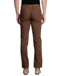 PT01 | Brown Casual Trouser for Men | Lyst