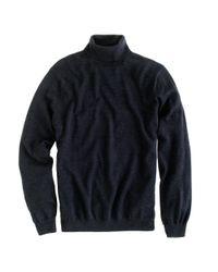 J.Crew | Black Merino Wool Turtleneck Sweater for Men | Lyst
