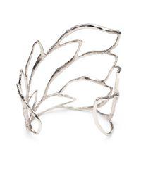 Alexis Bittar | Metallic Crystal Embellished Rocky Cuff | Lyst