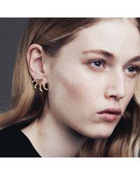 Smith/grey | Metallic Leonore Earrings Silver | Lyst