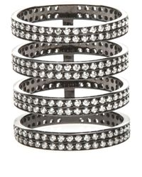Repossi   Metallic Four Layer Berbere Ring   Lyst