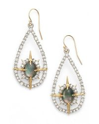 Alexis Bittar | Metallic Pendant Drop Earrings | Lyst
