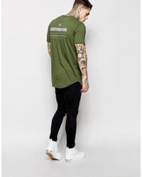 Good For Nothing | Green T-shirt With Back Print Exclusive To Asos for Men | Lyst