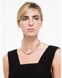 Need Supply Co. | Metallic Kate Collar | Lyst