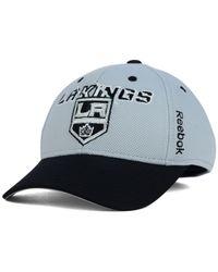 Reebok   Gray Kids' Los Angeles Kings 2nd Season Flex Cap   Lyst