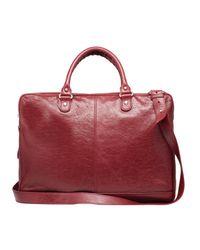 Balenciaga | Red Mini Folder Strap for Men | Lyst