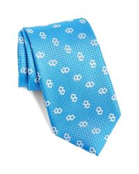 Robert Talbott | Blue 'best Of Class' Geometric Silk Tie for Men | Lyst