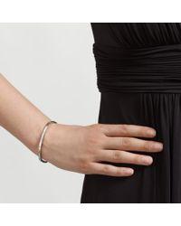 John Lewis - Metallic Fine Hinged Diamante Bracelet - Lyst