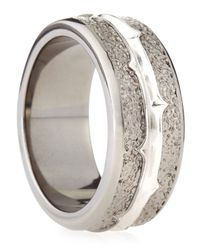 Stephen Webster | Metallic Highwayman Silver-band Ring for Men | Lyst