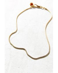 Urban Outfitters - Metallic Discotecca Precioso Necklace - Lyst