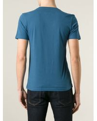 Paul Smith | Blue 'Le Troisième Œil' Print T-Shirt for Men | Lyst