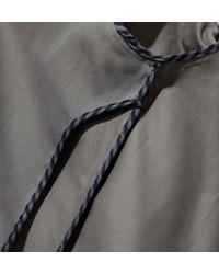 Sunspel   Gray Men's Cotton Twill Harrington Jacket for Men   Lyst