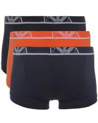 Emporio Armani - Multicolor Three Pack Of Boxer Shorts for Men - Lyst