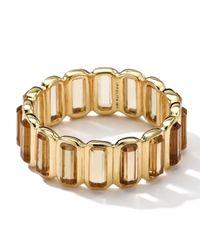 Ippolita - Metallic 18k Gold Rock Candy Gelato Mini-stone Vertical Ring - Lyst