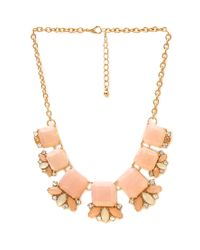 Forever 21 | Metallic Rhinestone Necklace Set | Lyst