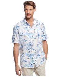 Tommy Bahama - Blue Island Bliss Breezer Linen Shirt for Men - Lyst