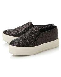 Steve Madden | Black Bubah Slip On Fashion Sneakers | Lyst