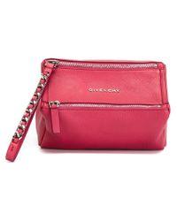 Givenchy - Pink 'pandora' Clutch - Lyst