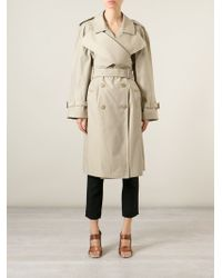 J.W.Anderson - Natural Double Breasted Trench Coat - Lyst