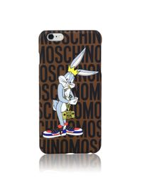 """Moschino - Multicolor Looney Tunes """"Bugs Bunny"""" Iphone 6 Plus Case - Lyst"""