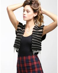 Wool And The Gang | Black Harley Vest | Lyst