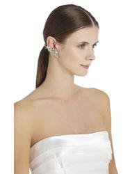 BCBGMAXAZRIA - Metallic Spiked Floral Ear Cuff Right - Lyst