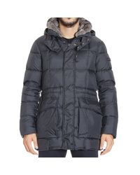 Peuterey | Blue Down Jacket for Men | Lyst