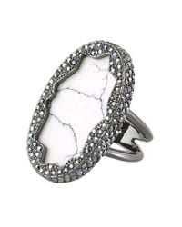 House of Harlow 1960 | Gray Tanga Coast Cocktail Ring | Lyst