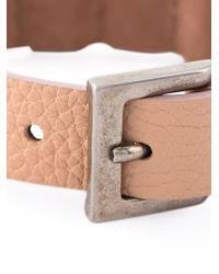 Alexander McQueen | Pink Embellished Skull Bracelet for Men | Lyst