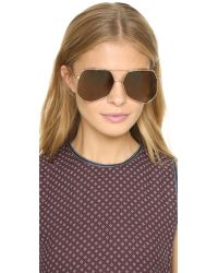 Grey Ant | Brown Megalast Sunglasses | Lyst