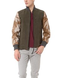 Christopher Raeburn - Green Remade Jacket for Men - Lyst