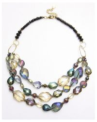 Nakamol | Multicolor Indra Necklace-Green | Lyst