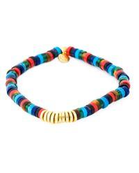 Tateossian - Multicolor 'melted Discs' Bracelet for Men - Lyst