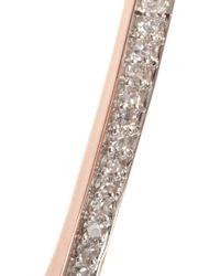 Monica Vinader - Metallic Rose Goldplated Diamond Bracelet - Lyst