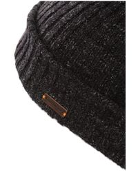 BOSS Orange | Black Cotton Hat: 'araffons' for Men | Lyst