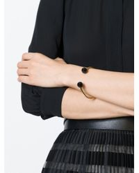 Isabel Marant - Black Torche Bracelet - Lyst