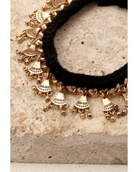 Forever 21 | Metallic Etched Charm Ankle Bracelet | Lyst